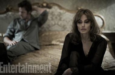Brad Pitt y Angelina Jolie son un matrimonio en crisis de los años 70. (Foto (sin efecto): entertainment weekly.