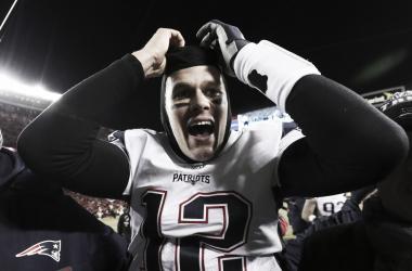 Tom Brady llega a su tercera final de la Super Bowl de manera consecutiva. Foto: NFL.