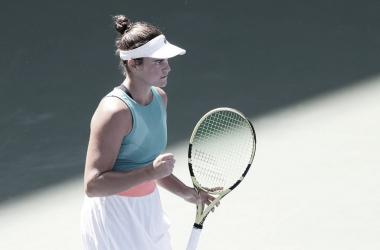 El nivel de Jennifer Brady va en aumento y accede a sus primeras semifinales en el US Open