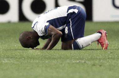 Brahimi desbloqueou o 0-0 de livre directo (Fonte: Maisfutebol.iol.pt)