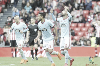 Brais Méndez consiguió salvar un punto para su equipo ante el Athletic Club | Foto: LaLiga (Santander)