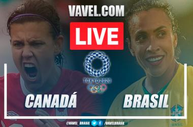 Gols e melhores momentos Canadá x Brasil pelas Olimpíadas de Tóquio