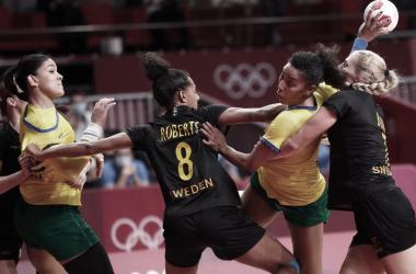 Resume and Highlights France vs Brazil Women's Handball Olympic Games Tokyo 2020 (29-22)
