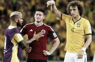 Brasil venceu, mas o craque do momento continua a ser James. (Fonte: Reuters)