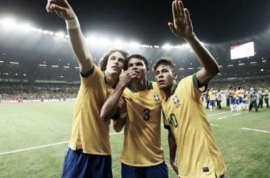 Thiago Silva e Neymar não podem defrontar a Alemanha