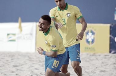 Beach Soccer: gols e Melhores Momentos de Suíça 5 (4) x (3) 5 Brasil pela Copa do Mundo
