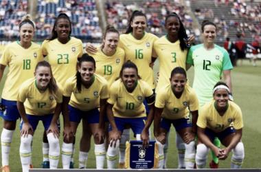 Resultado Brasil x Estados Unidos pelo Torneio das Nações de Futebol Feminino (1-4)