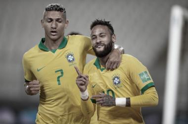 Com três gols de Neymar, Brasil vence Peru e se mantém com 100% de aproveitamento nas Eliminatórias
