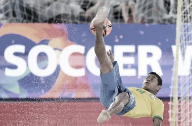 Beach Soccer: gols e melhores momentos de Senegal x Brasil (5-4)