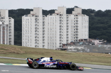 Brendon Hartley en el Autódromo José Carlos Pace | Fuente: Getty Images