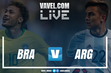 Resultado e gol do jogo do Brasil 1 x 0 Argentina no Amistoso Internacional 2018