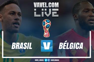 Resultado e gols de Brasil x Bélgica pela Copa do Mundo (1-2)