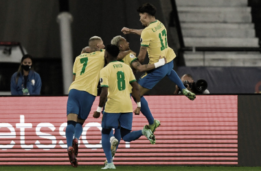Com um a menos, Brasil supera Chile e está na semifinal da Copa América