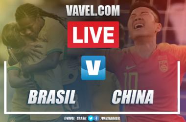 Melhores momentos Brasil x China pelo Torneio Internacional de Futebol Feminino 2019