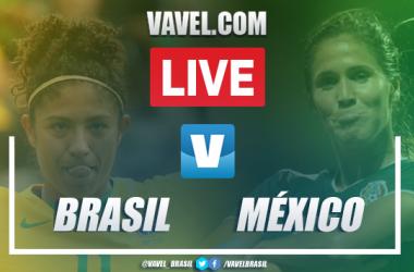 Gols e melhores momentos Brasil x México em amistoso de futebol feminino (4-0)
