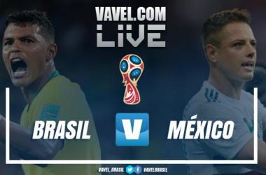 Resultado e gols de Brasil x México na Copa do Mundo 2018 (2-0)