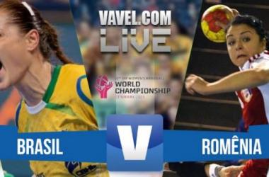 Resultado Brasil x Romênia nas oitavas do Mundial Feminino de Handebol 2015 (22-25)
