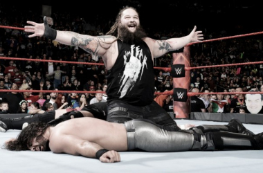Wyatt stood tall at the end of the night. Photo-WWE.com