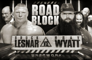 Brock Lesnar is set to face off against Bray Wyatt at WWE Special Roadblock (image: cagesideseats.com)