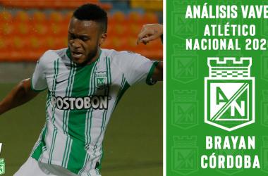 Análisis VAVEL, Atlético Nacional 2020: Brayan Córdoba