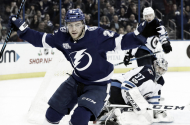 Brayden Point  of theTampa Bay Lighting (Photo Courtesy of Sportsnet.ca)