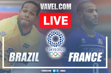 Highlights: Brazil 3-2 France men's volleyball Olympic Games Tokyo 2020
