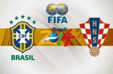 Brasil - Croacia: listos para el puntapié inicial