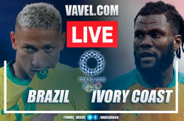 Highlights: Brazil 0-0 Ivory Coastat the Olympic Games Tokyo 2020
