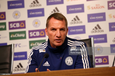 "<span style=""caret-color: rgb(51, 51, 51); color: rgb(51, 51, 51); font-family: Ubuntu, tahoma, Arial;"">Brendan Rodgers speaking ahead of his side's test against Manchester City in the Premier League 