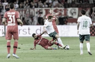 Bayer Leverkusen y Werder Bremen alargan la racha de partidos sin ganar
