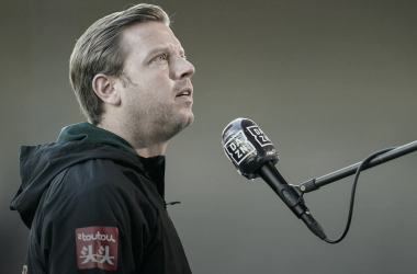 Florian Kohfeldt enaltece mentalidade dos jogadores para permanência do Bremen na Bundesliga