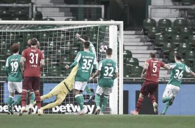 Werder Bremen y FC Köln igualan 1-1 por Bundesliga