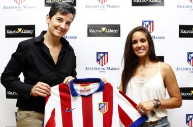"""Brenda Pérez llega al Atlético de Madrid con la ambición de """"seguir creciendo"""""""