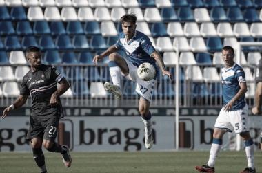 Brescia se despede da Serie A com animado empate contra Sampdoria