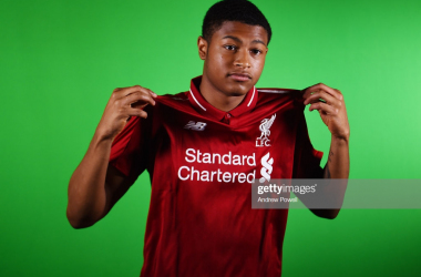 Rhian Brewster is tipped for big things at Liverpool (Getty Images)