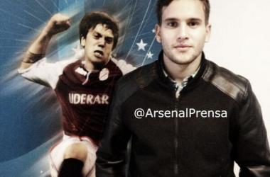 Foto: Twitter - Prensa Arsenal de Sarandí