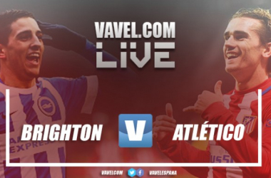 Resumen del Brighton vs Atlético de Madrid (2-3)
