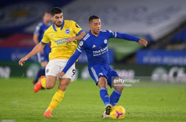 As it happened: Brighton and Hove Albion 1-2 Leicester City