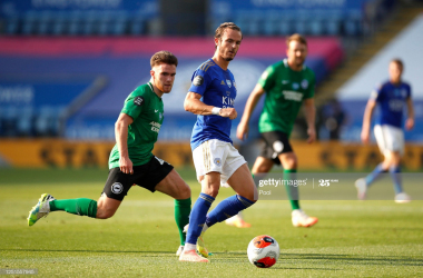 Leicester City 0-0 Brighton & Hove Albion: Resilient Brighton hold the Foxes to a goalless draw at the King Power