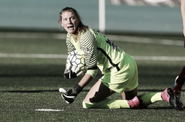 Britt Eckerstrom will spend 2017 with the Portland Thorns after playing a season for the Western New York Flash. (Soruce: Jamie Germano/Democrat and Chronicle)