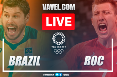 Highlights: Brazil 1-3 Russia in  Men's Volleyball Olympic Games