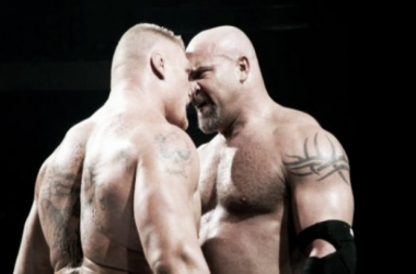 Will these two giants collide at Survivor Series? Photo- Forbes.com