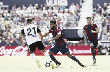 Resumen Valencia vs Levante (3-1)