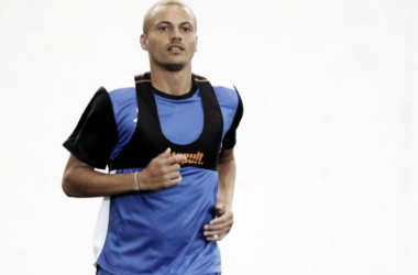 Wes Brown training with Blackburn Rovers   Photo: Lancashire Telegraph