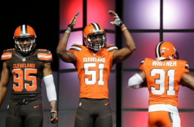 No longer The NFL's Ugly Duckling: Cleveland Browns Unveil Impressive New Uniforms