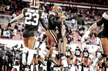 Jogo terrestre funciona e Cleveland Browns vence Cincinnati Bengals na batalha de Ohio
