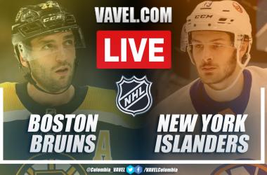 Goles y Resumen Boston Bruins 1-4 New York Islanders en playoffs de la NHL 2021