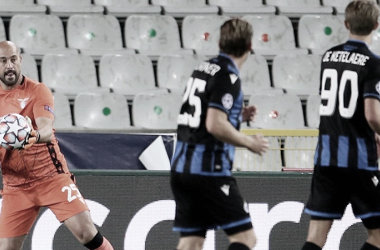 Lazio arranca empate com Brugge e lidera grupo do Borussia Dortmund na Champions
