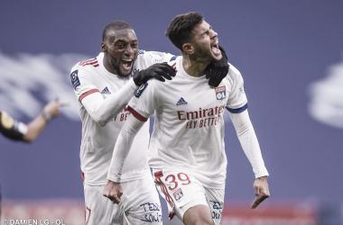 Com primeiro gol de Bruno Guimarães, Lyon bate Reims pela Ligue 1