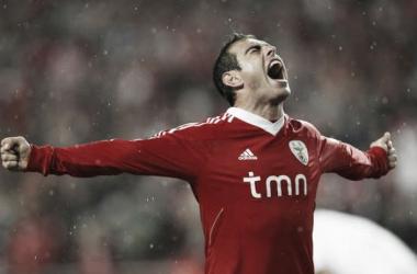 Bruno César quando jogou pelo Benfica (Foto: Reprodução/ASF)